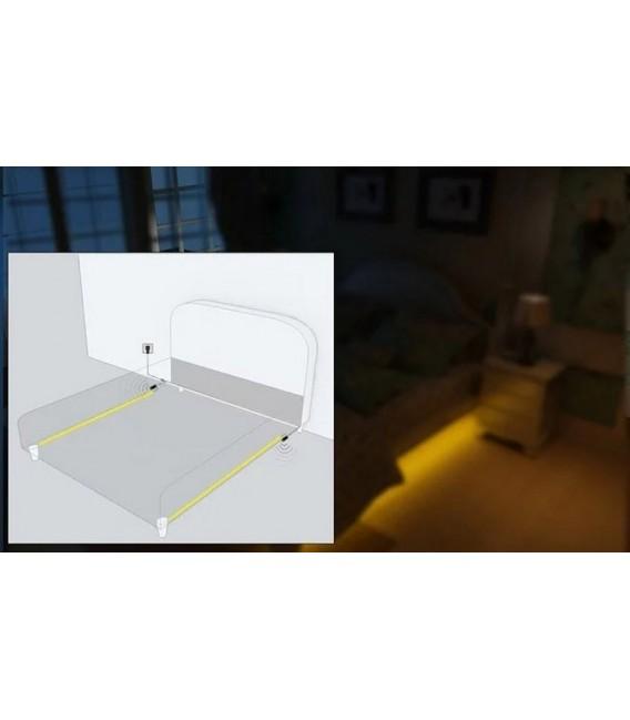 LED Bettenbeleuchtung mit 2 PIR-Sensoren Bild 3