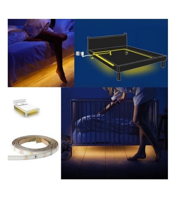 LED Bettenbeleuchtung mit 2 PIR-Sensoren Bild 5