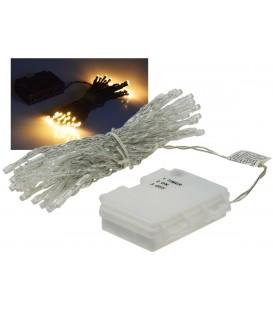 """LED Batterie-Lichterkette """"CT-TK50"""" 5m Bild 1"""