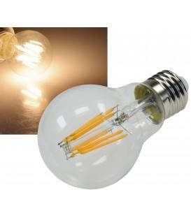 "LED Glühlampe E27 ""Filament G60k"" klar Bild 1"