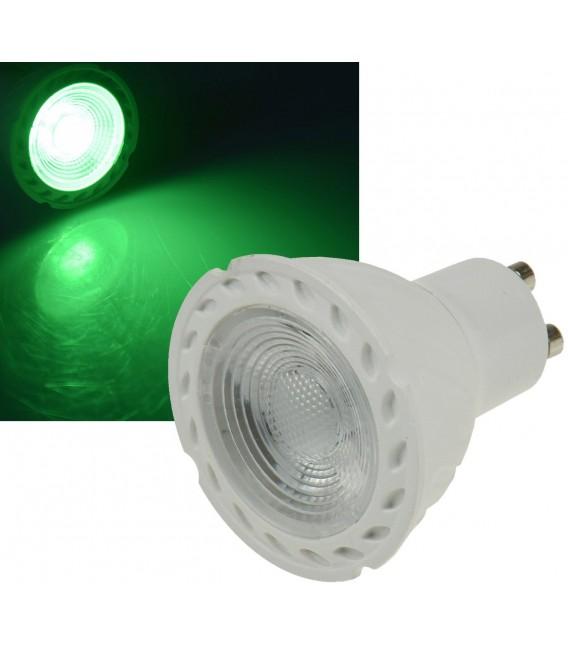 "LED Strahler GU10 ""LDS-50"" grün Bild 1 Vorschau"
