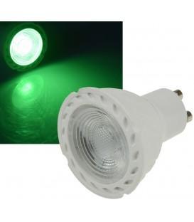 """LED Strahler GU10 """"LDS-50"""" grün Bild 1"""