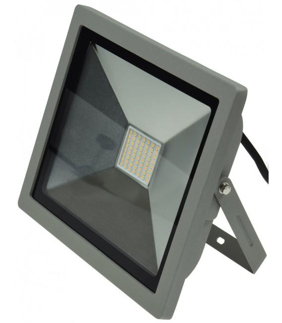 "LED-Fluter SlimLine ""CTF-SLT 50"" silber Bild 3 Vorschau"