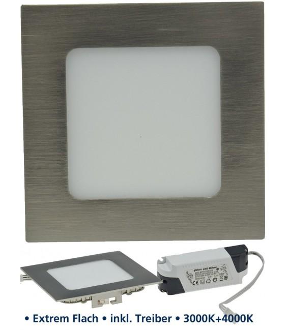 """LED Panel """"CCT-012"""" 12x12cm 600lm Bild 1 Vorschau"""