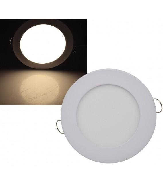 "LED Licht-Panel ""QCP-12R"" Ø 12cm Bild 1"