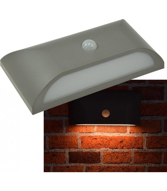 """LED Wandleuchte """"KWL-220-PIR"""" eckig Bild 1 Vorschau"""