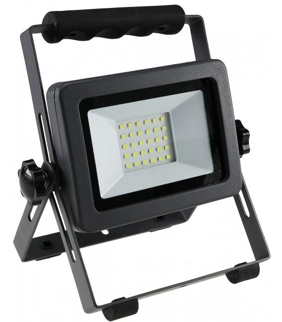 "LED Baustrahler mit Akku ""BS-30 pro"" Bild 4 Vorschau"
