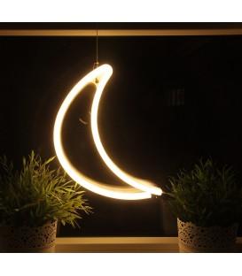 """LED Figur """"Mond"""" 300x185mm warmweiß Bild 1"""