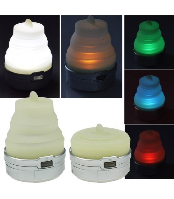 LED Ziehharmonika Camping-Leuchte Bild 1 Vorschau