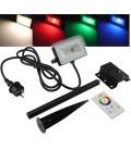 """LED-Fluter SlimLine """"CTF-SL10W RGB-W"""""""