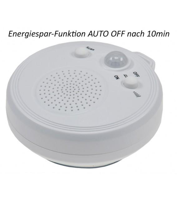 Duschradio mit Saugnapf weiß Bild 1