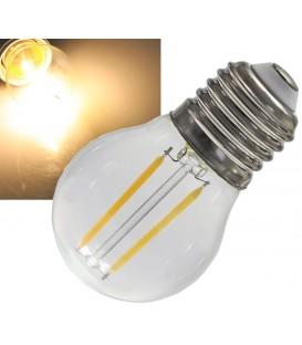 """LED Tropfenlampe E27 """"Filament T4"""" Bild 1"""