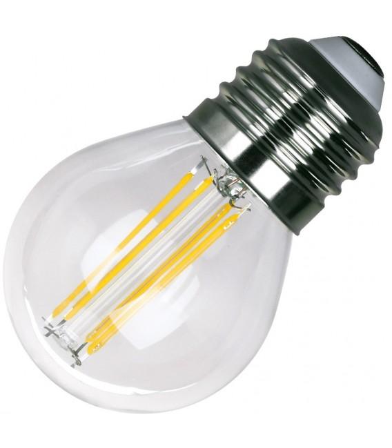 """LED Tropfenlampe E27 """"Filament T4"""" Bild 2"""