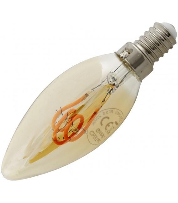 "LED Kerzenlampe E14 ""Vintage K25"" Bild 2"