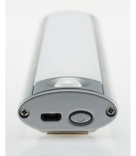"""LED Akku-Leuchte PIR Sensor """"MAL-60 ww"""" Bild 6 Vorschau"""