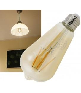 """LED Glühlampe E27 """"Vintage ST64"""" Bild 1"""