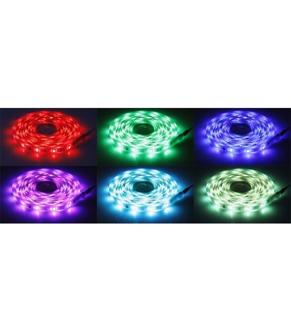 RGB LED-Stripe Set 5m + Mini Controller Bild 3 Vorschau