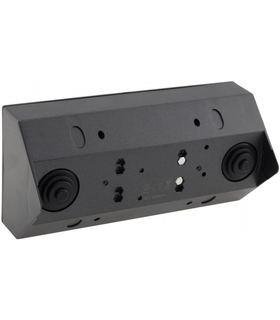 2-fach Steckdosenblock+ 2x USB - anthrazit Bild 3 Vorschau
