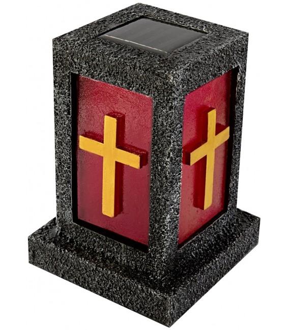 Solar-Grablicht mit Kreuz Bild 1 Vorschau