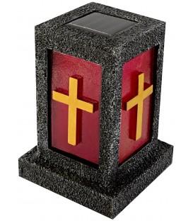 Solar-Grablicht mit Kreuz Bild 1