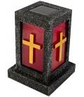 Solar-Grablicht mit Kreuz