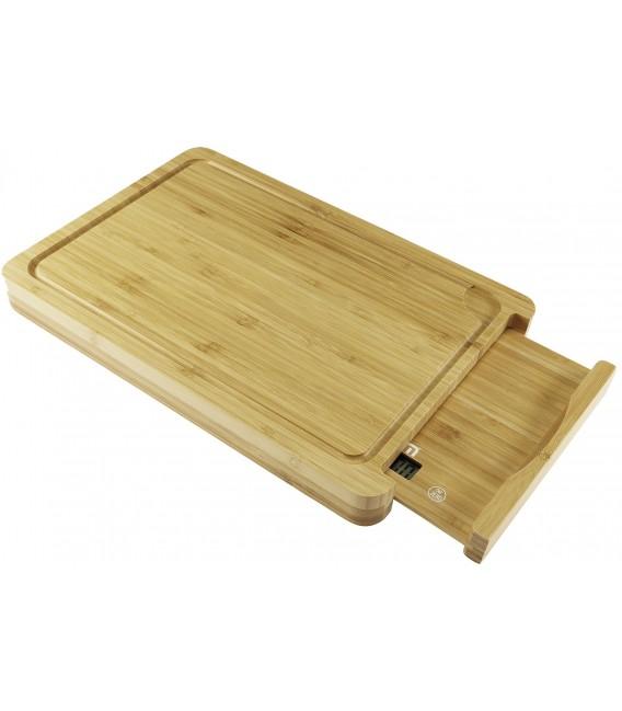 Bambus-Schneidbrett 380x260x35mm Bild 2 Vorschau