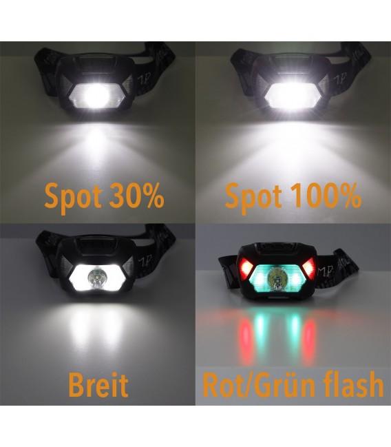"""LED-Stirnlampe """"CTX-Head 6"""" Bild 3 Vorschau"""