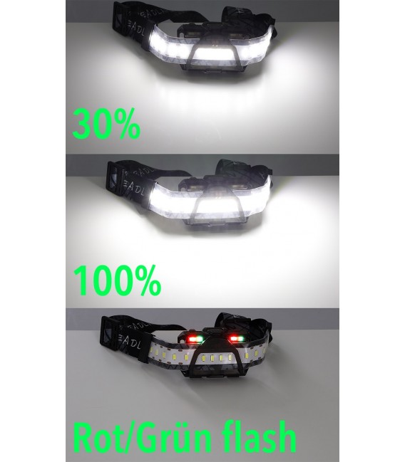 """LED-Stirnlampe """"CTX-Head 180"""" Bild 4 Vorschau"""