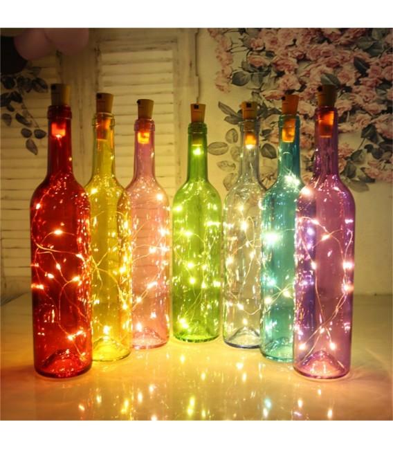 """LED Flaschen-Lichterkette """"CuteBottle"""" Bild 2 Vorschau"""