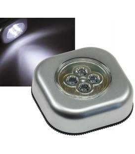 "LED Klebeleuchte mit 4 LEDs ""CTK4"" Bild 1"