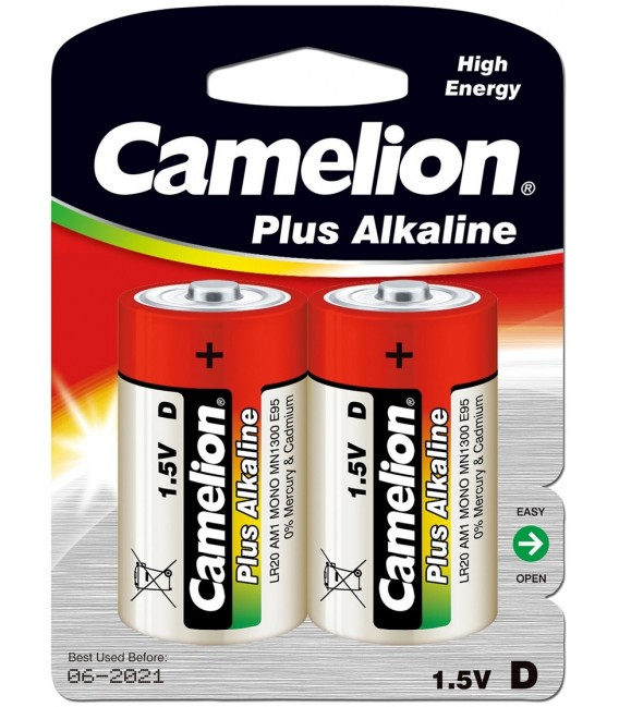 Mono-Batterien CAMELION AlkalinePlus Bild 1