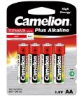 Mignon-Batterien CAMELION AlkalinePlus 4er-Pack