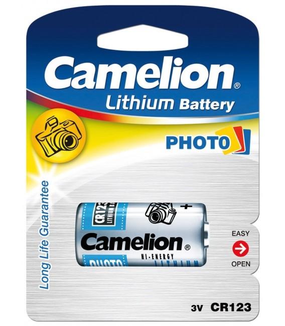 Lithium-Photozelle CAMELION CR123A Bild 1