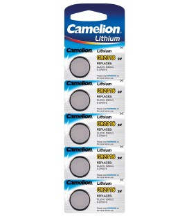 Lithium Knopfzelle CAMELION CR2016 Bild 1