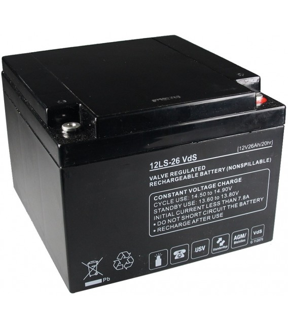 Bleiakku Q-Batteries 12V/26Ah Bild 1