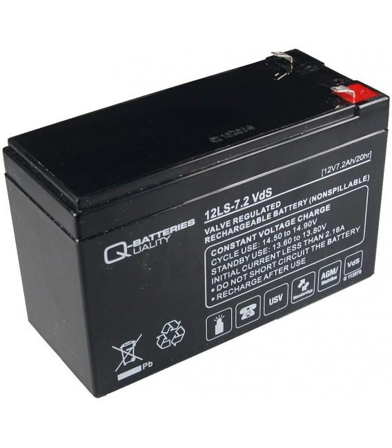 Bleiakku Q-Batteries 12V/7.2Ah Bild 1