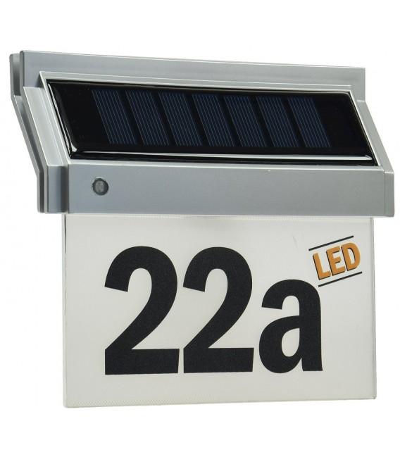 Solar Hausnummernleuchte mit LED Bild 1