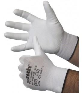 Nylon Feinstrick-Handschuhe mit Bild 1