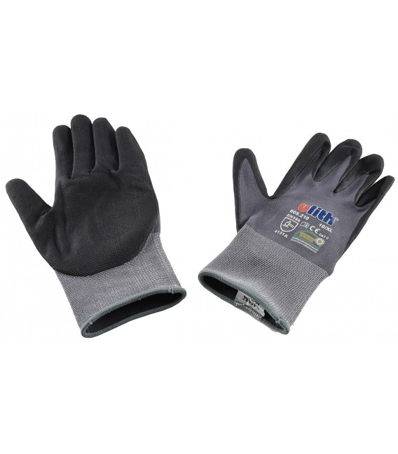 Profi Arbeits-Handschuhe mit Kautschuk- Bild 3