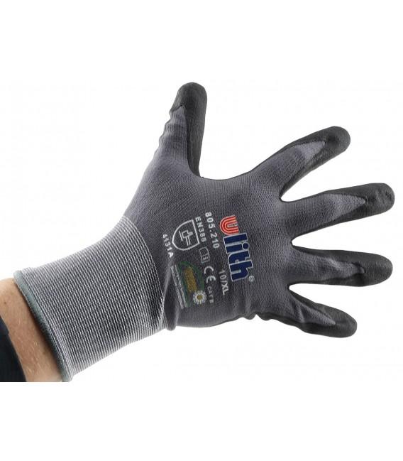 Profi Arbeits-Handschuhe mit Kautschuk- Bild 4