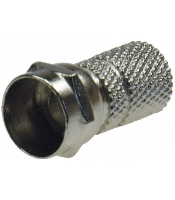 F-Stecker für Koaxkabel mit 7mm Ø Bild 1