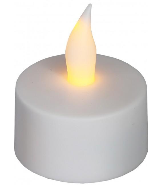 LED Teelichter 12er Set mit Windschutz Bild 6