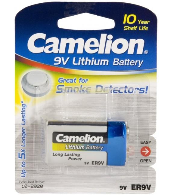 9V-Block-Batterie CAMELION Lithium Bild 1
