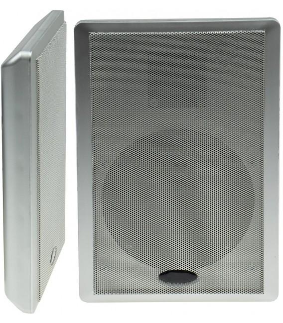 Flatpanel-Lautsprecher 40W silber Bild 1