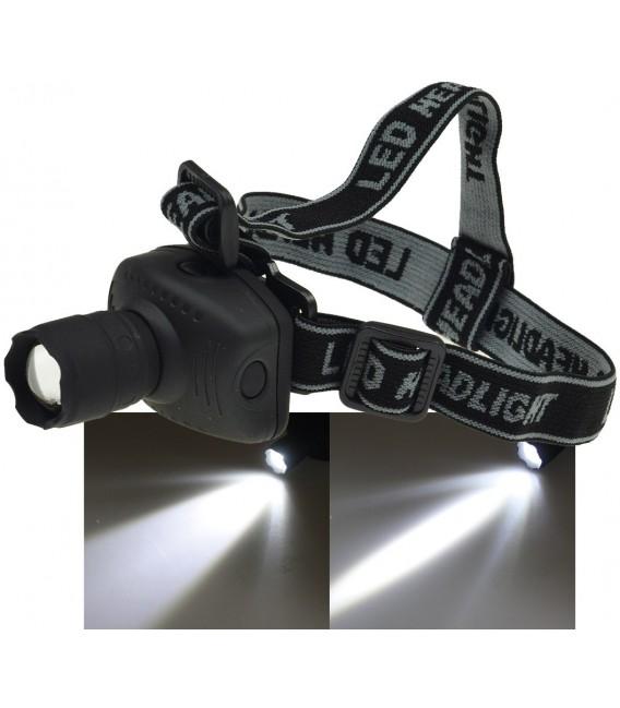 LED-Stirnlampe mit fokussierbarer 1W LED Bild 1