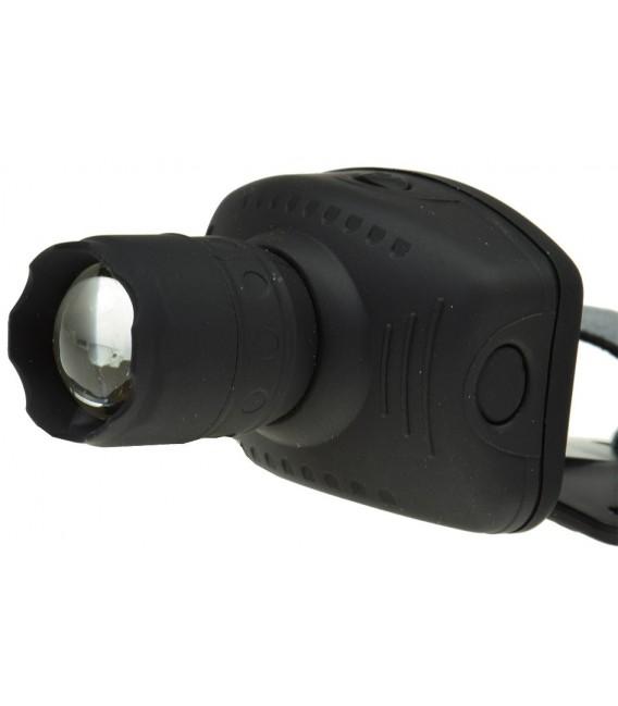 LED-Stirnlampe mit fokussierbarer 1W LED Bild 3