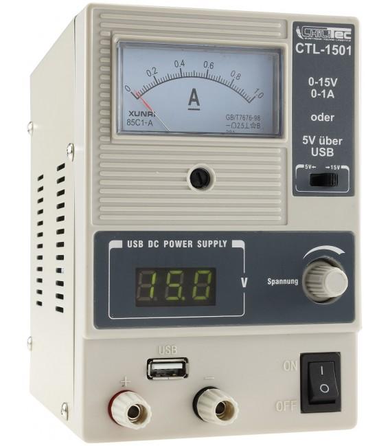 "Regelbares Labornetzgerät ""CTL-1501"" Bild 1"