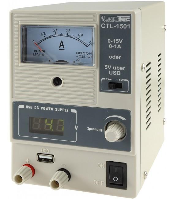 "Regelbares Labornetzgerät ""CTL-1501"" Bild 2"