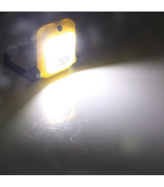 LED Baustrahler mit Akku 1x 20W LED Bild 3 Vorschau