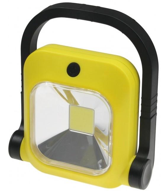 LED Baustrahler mit Akku 1x 20W LED Bild 4 Vorschau
